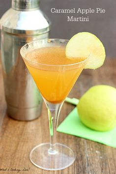 Caramel Apple Pie Martini - Whats Cooking Love?