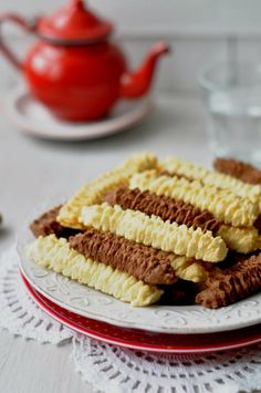 Csak a Puffin Biscotti Recipe, Tasty, Yummy Food, Winter Food, Dessert Table, I Foods, Food Styling, Breakfast Recipes, Caramel