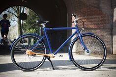 ドライブシャフトにするだけで自転車ってこんなにスッキリするんだね