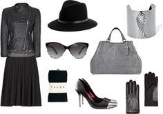 Georgia's Style: Black & Silver
