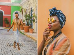 """A stroll through Old San Juan in a sheer white dress and leopard print headwrap reminded me of how beautiful it is to be a woman. I was no longer """"Paola, the dreamer"""". I was """"Lola…"""