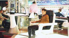 Captain Pavel A. Chekov - Perhaps in an alternate universe 😉 New Star Trek Movie, Star Trek V, Star Trek Cast, Star Trek 2009, Star Trek Movies, Star Trek Reboot, Anton Yelchin, Starship Enterprise, Star Track