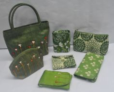 Raw Silk Embroidery Handmade bag and other wallets. # fair trade# handcrafted