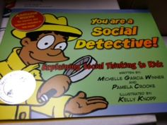 Speech Time Fun: You are a social detective! (product review!) Great book for explaining social thinking to kids. Pinned by SOS Inc. Resources. Follow all our boards at pinterest.com/sostherapy for therapy resources.