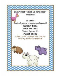 Polar+Bear++from+Fun+Printables+for+Preschoolers+on+TeachersNotebook.com+-++(11+pages)++-+Polar+Bear