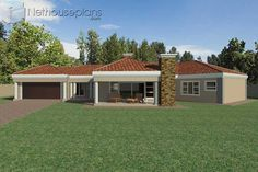 5 Bedroom Single Storey House Plan For Sale NethouseplansNethouseplans Tuscan House Plans, Ranch House Plans, Craftsman House Plans, Modern House Plans, House Floor Plans, House Plans For Sale, House Plan With Loft, House Plans With Photos, 6 Bedroom House Plans