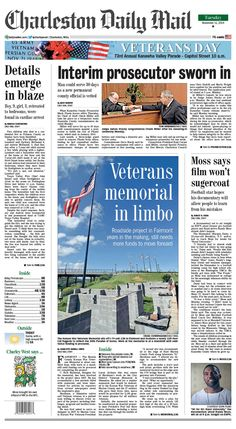 "On Tuesday's front page, former pro football player and Rand native Randy Moss says ""30 for 30: Rand University,"" the new ESPN documentary about him, doesn't ""sugercoat"" his past. In an interview with the Daily Mail, Moss says the feature will let people ""learn more about me and the mistakes I made so they don't make the same ones."" It airs tonight at 9 p.m. Read more online at www.charlestondailymail.com."