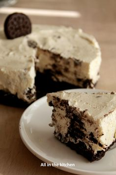 Cheese cake oreo (sans cuisson) pour la battle food n°24! - All in the kitchen