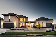 Grandwood Homes - Custom Home Builders Perth Dream Home Design, Modern House Design, My Dream Home, Dream Homes, Duplex Design, Custom Home Builders, Custom Homes, Future House, Storey Homes