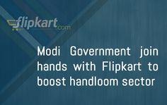 Modi-govt-joins-hands-with-Flipkart-to-boost-handloom-sector