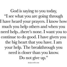 Quotes Encouragement Strength Thank You Lord 39 Ideas Prayer Verses, Prayer Quotes, Bible Verses Quotes, Spiritual Quotes, Faith Quotes, True Quotes, Words Quotes, Sayings, Trusting God Quotes