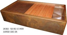 Ordering Copper and Stainless Sinks by Rachiele