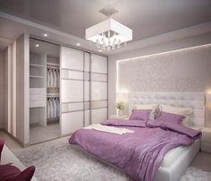 Este posibil ca imaginea să conţină: dormitor şi interior Wardrobe Design Bedroom, Home Interior Design, Beautiful Bedroom Decor, Bedroom Decor, Living Room Decor Apartment, Ceiling Design Bedroom, Modern Bedroom, Bedroom Deco, Luxurious Bedrooms