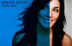 """Show details for SOLYX: SXO-057. Traffic Blue. 48"""" wide"""