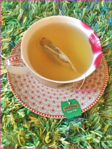Review of Twinings Mint Green Tea As a lady who enjoys her cups of tea on a daily basis I am always on the lookout for new teas to try. I am starting to drink more green tea as it is a great tea to be enjoyed milk free and is therefore perfect for dairy free me. I have tried a couple of brands of green tea of varying qualities. I recently stayed in a hotel and saw several packets of Twinings tea. I took a packet of the Twinings green mint green tea home to try. Please click for my review.