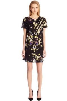 CUTABOUT FLORAL PRINT SWING DRESS