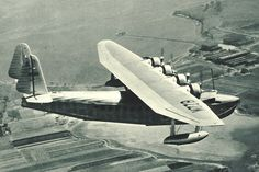 """Sikorsky S-42, aircraft registration NC-822M, """"Brazilian Clipper"""", Pan American Airways, 1934"""
