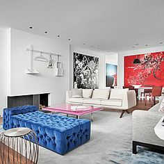 No Jacket Required: Coming Home to Art | Projects | Interior Design