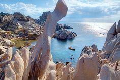 Capo Testa: Wind und Wellen verwandelten den Granit an der Nordspitze Sardiniens in kolossale Skulpturen. #Sardinia