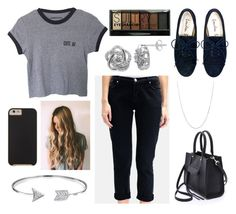 """""""Shopping With the Pals!!"""" by mydailypoly23 ❤ liked on Polyvore featuring Hudson Jeans, Rebecca Minkoff, Bling Jewelry, BERRICLE, Silver Enchantment, Case-Mate and Boohoo"""