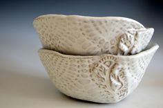 Reserved  for the wedding of SELAH & HANNAH - set of 2 cereal/soup bowls by BlueDoorCeramics on Etsy https://www.etsy.com/listing/487454616/reserved-for-the-wedding-of-selah-hannah