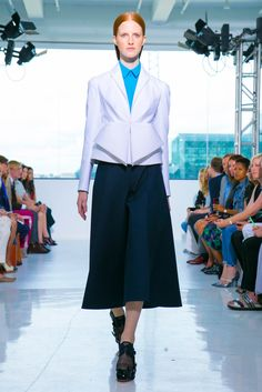 A look from the Delpozo Spring 2015 RTW collection.