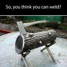 Welding is an art.