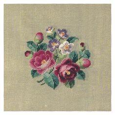 "ru / Martin Winkler ""J Cross Stitch Charts, Cross Stitch Designs, Cross Stitch Embroidery, Cross Stitch Patterns, Needlepoint Kits, Needlepoint Canvases, Simple Rose, Romantic Roses, Cross Stitch Flowers"