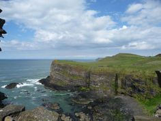 Views from Dunluce Castle Northern Ireland