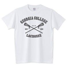 Lacrosse college   デザインTシャツ通販 T-SHIRTS TRINITY(Tシャツトリニティ)