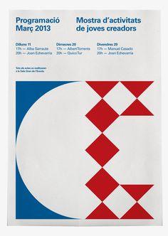 Cartells de Círcole, Escola de Circ by Albert Gómez Porta, via Behance