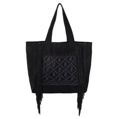 Daira Tote Suede Bag, 50 cm x 50 cm. Macrame, Reusable Tote Bags, Handbags, Leather, Fashion, Moda, Totes, Fashion Styles, Purse