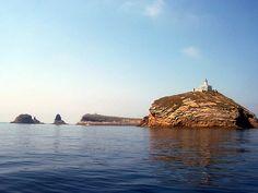 """Cerca de la costa se encuentran """"Les illes Columbretes"""" (paraje natural)."""