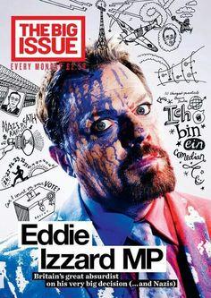 Eddie Izzard MP. Love this!
