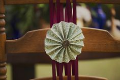 Finishing Touch: DIY: Pinwheel Accents