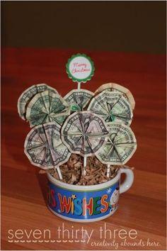 Money Bouquet Tutorial - seven thirty three: