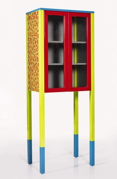 D'Antibes cabinet by George J. Sowden, part of David Bowie's personal Memphis furniture collection