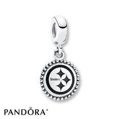 Pandora Charm Pittsburgh Steelers Sterling Silver