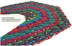 Ravelry: Marina Shawl pattern by Sophie GELFI Designs
