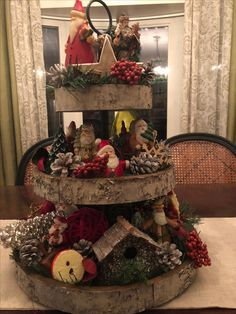 Attractive and Easy Flannel Fabrics Crafts Ideas can make in Christmas Day - Christmas Centerpieces, Xmas Decorations, Christmas Themes, Christmas Wreaths, Christmas Crafts, Centerpiece Ideas, Christmas Christmas, Primitive Christmas, Country Christmas