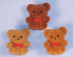 Aw!!  #Nostalgia!  My Mom had these for us! teddy bear pins