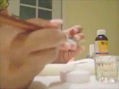 Easy DIY Acrylic Fill Tutorial! - YouTube Diy Acrylic Nails, Diy Nails, Natural Beauty Tips, Natural Nails, Fill In Nails, Acyrlic Nails, Gel Nail Polish, Nail Polishes, Home Nail Salon