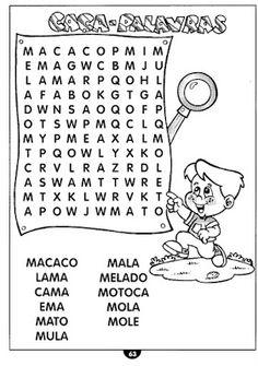 Mundo infantil 2º ano: Atividades de alfabetização para reforço e lição de casa