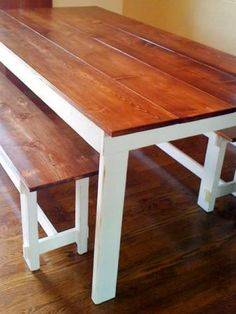 Inspiration for base of guinea pig home  Ana White | Build a Rustic Table