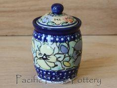 Polish Pottery Series 4 Unikat Jar (Pattern 417)