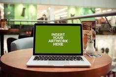Mockup para mostrar tus diseños en tablets, laptops, y iPhones