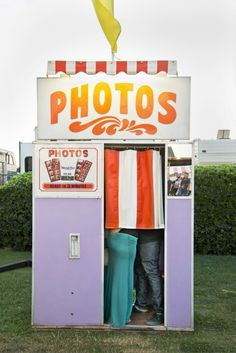 Before you snapping selfies on your camera phone, portrait magic was being made in photo booths everywhere. Charlotte Neil's Behind the Curtain series embodies all of those special moments made in the common photo booth.