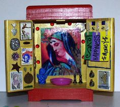 Beautiful hand crafted portable altar