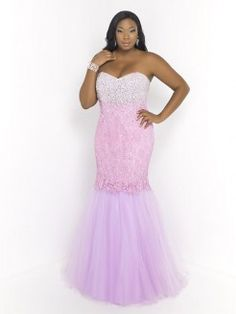 Trumpet/Mermaid Sweetheart Sleeveless Beading Floor-length Lace Plus Size Prom Dresses