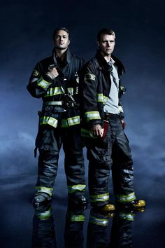 Chicago Fire Casey and Severide